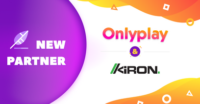 Onlyplay Form Strategic Partnership With Kiron Interactive