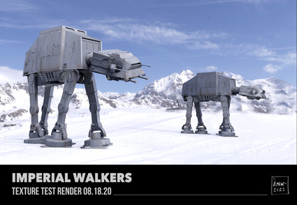 Imperial AT-AT Walkers