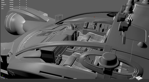 Software used: Maya, Unfold3D, Substance, Photoshop, Illustrator, Redshift3D.
