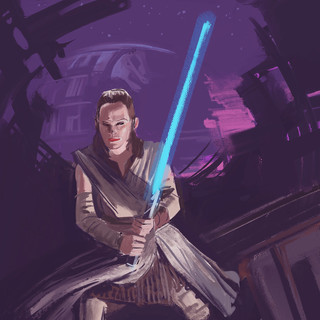 Sketch of Rey