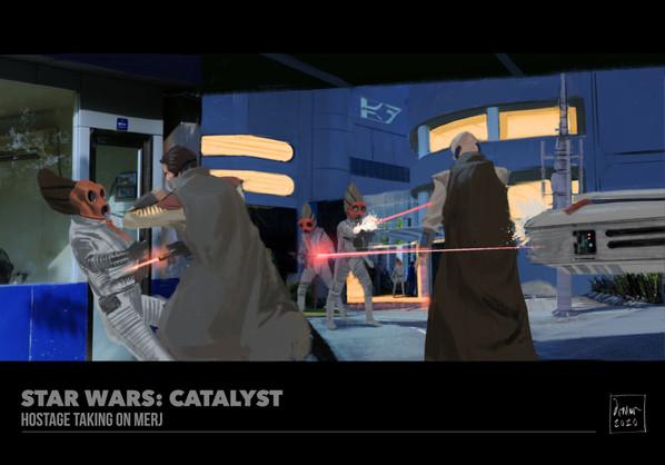 Hostage Taking on Merj, from Catalyst.