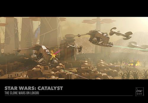 The Clone Wars on Lokari