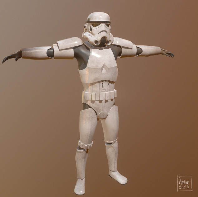 Rigged Stormtrooper
