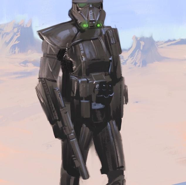 Deathtrooper Sketch
