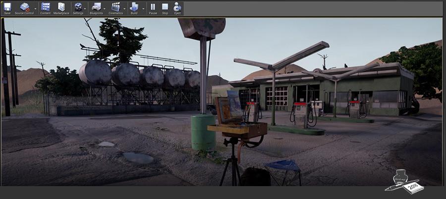 Software used: Cinema4D, PlantFactory, Unfold3D, Substance, Photoshop, Illustrator, Unreal Engine 4