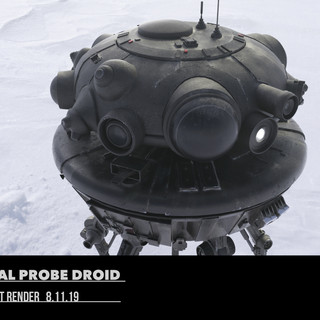 Imperial Probe Droid Model