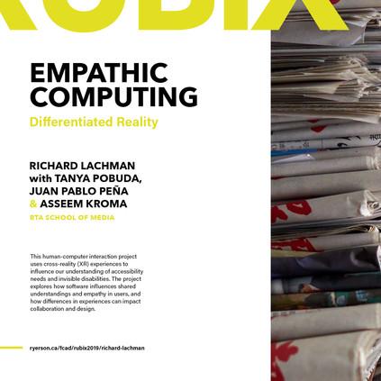 Empathic Computing Presentation at RUBIX