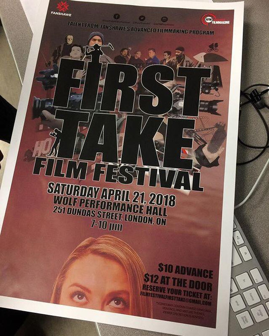 Judging at the First Take Film Festival 2018