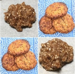 Almond, Flaxmeal and Sesame Biscuits