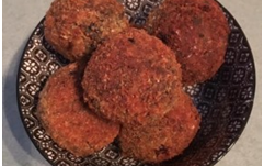 Crunchie Mushroom Patties or Balls