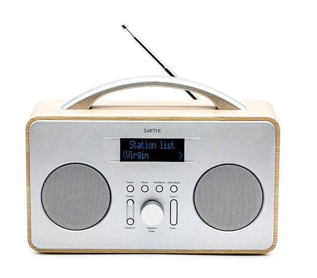 "Coppice DAB+ FM DAB Digital Portable Wireless Radio with 2.8"" LCD Screen"
