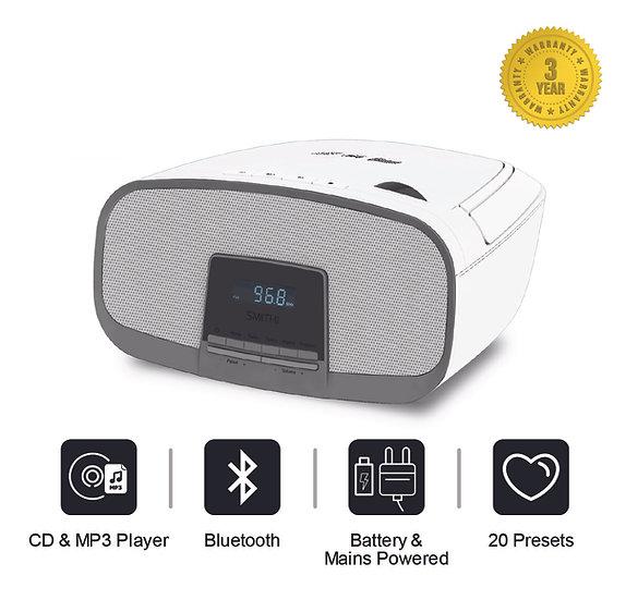 CD Boombox Bluetooth MP3 Player FM Portable Radio USB Playback