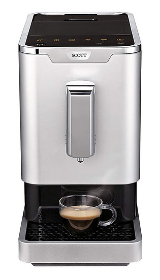 SCOTT Slimissimo Fully Automatic Espresso Coffee Machine Bean to Cup Barista