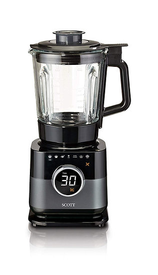 SCOTT Simplissimo Chef All in One Cook Blender Soup Steamer BPA Free 1.7L