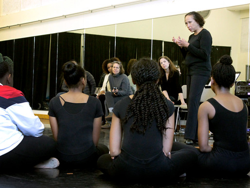 Masterclass from Dance Theatre of Harlem leader gives lessons on confidence, working towards goals
