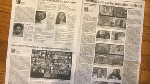 Art of Collaboration: Edge works with local media reporting on 2020 Governor's School for the Arts