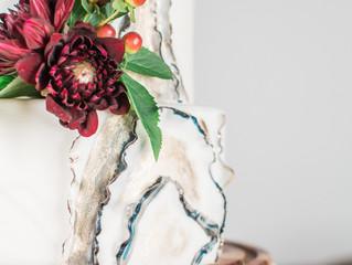 Intimate Wine Colored Wedding