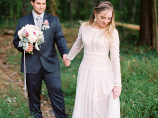 Come Away With Me - An Enchanted Woodland Wedding Shoot