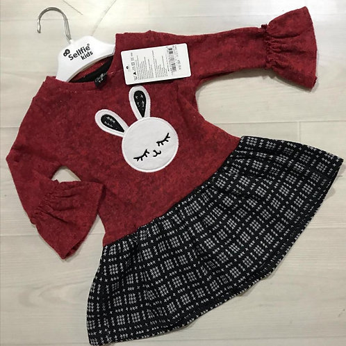 Bunny Red Dress