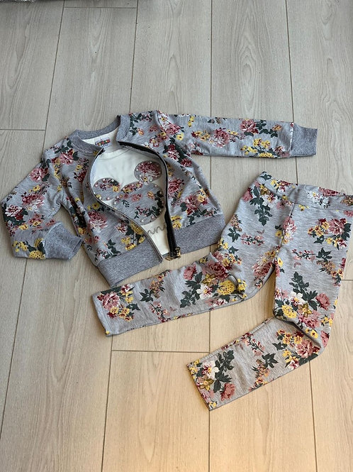 Girls Floral Minni Set