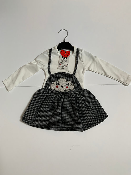 Cute Little Girls Set (Small Squares design)