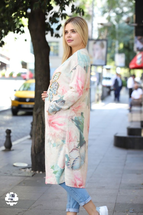Free Size Women Hand Crafted Maxi Jacket