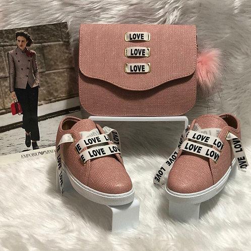 LOVE Sneaker Matching Set