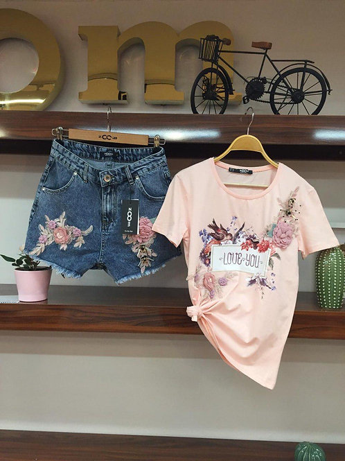 T.shirt and matching short
