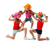 3 silly clown acrobats.png