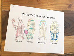 Pesach Puppets