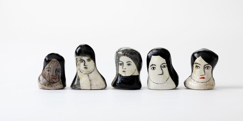 Illustration auf Keramik