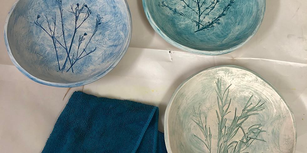 Eigene Projekte in Keramik
