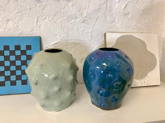 cloud investigation, droplets vases
