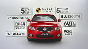 Holden Cruze TVC