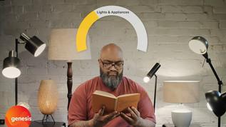 Genesis > Usage Breakdown: Lighting