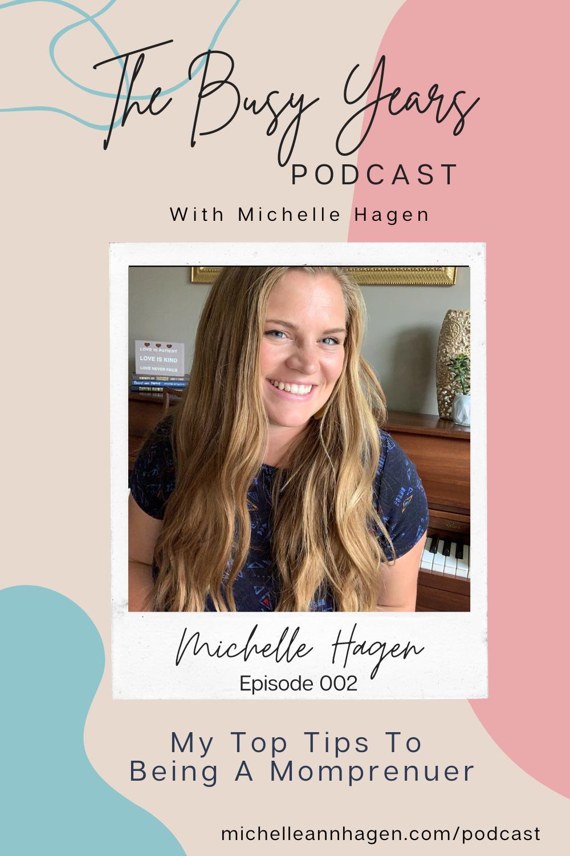 Michelle Hagen | Michelle Ann Hagen | The Busy Years Podcast