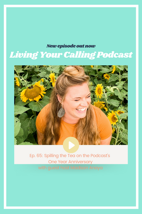 Spilling the Tea on the Podcast's One Year Anniversary