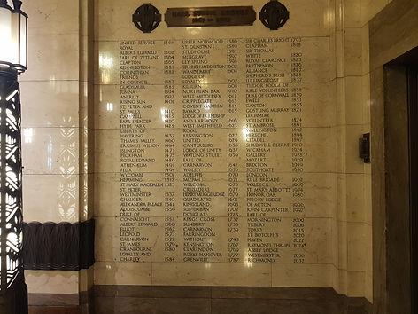 Hall Stone Memorial