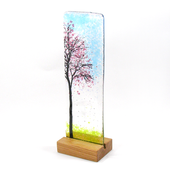 Fused Glass Tree Spring Blossom