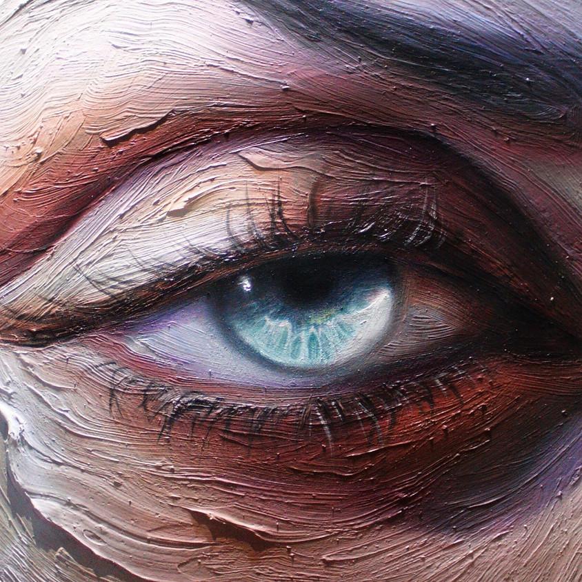Eye & Portrait Painting w/ Maldha Mohamed