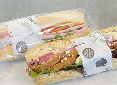 Individually wrapped - Gourmet Full Baguette