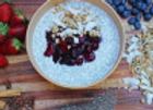 "Sweet ""Chia-Coconut"" Breakfast Bowl (Vegan)"