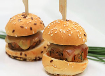 Vegetarian burger - mini