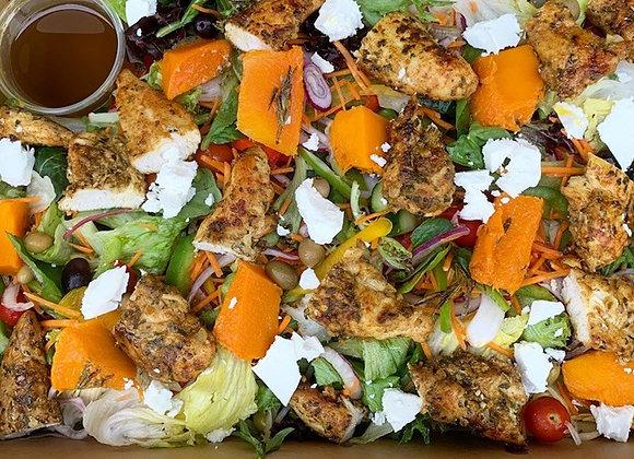 Chermoula Spiced Chicken & Feta Salad (GF)