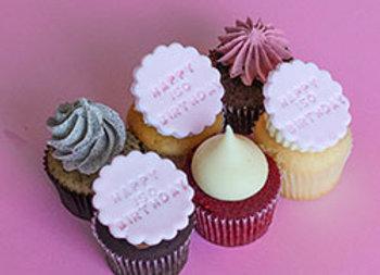 Iso happy birthday cupcakes