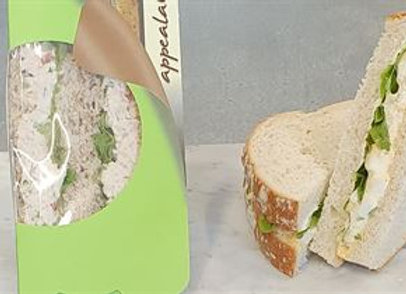 Individually wrapped - Pointed Sandwich
