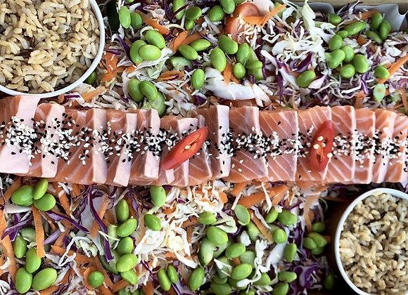 Salmon Poke Salad (GF) (DF)