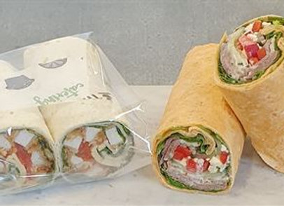 Individually wrapped - Gourmet tortilla wrap