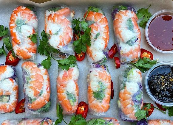 Vietnamese Rice Paper Rolls (GF)