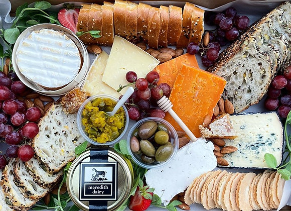Premium Cheese & Fruit Platter